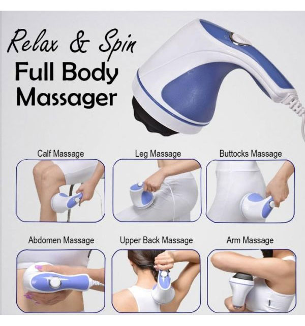 Relax & Spin Tone Hand-held Full Body Massager Gallery Image 2