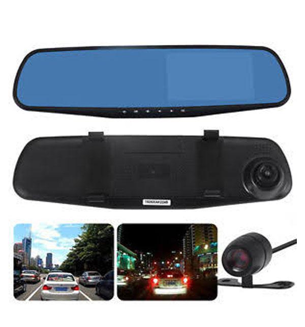 Car DVR Mirror DUAL Camera Front/Back 1080p Gallery Image 1