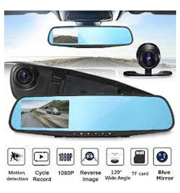 Car DVR Mirror DUAL Camera Front/Back 1080p Gallery Image 3