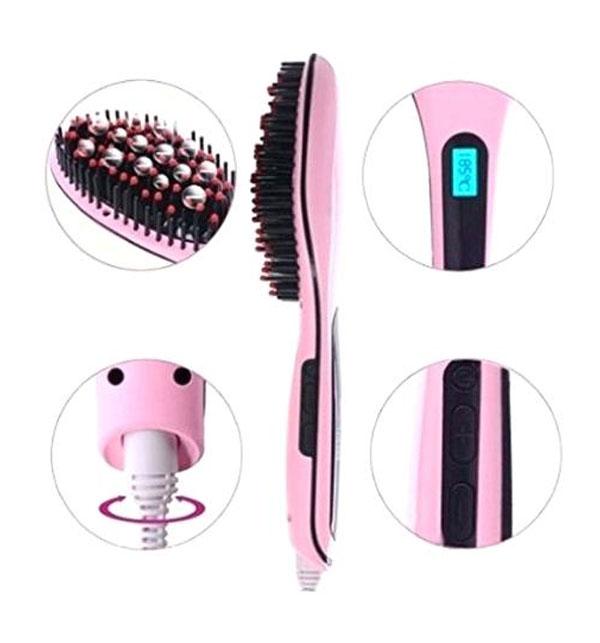 Best Fast Hair Straightener Brush Gallery Image 1