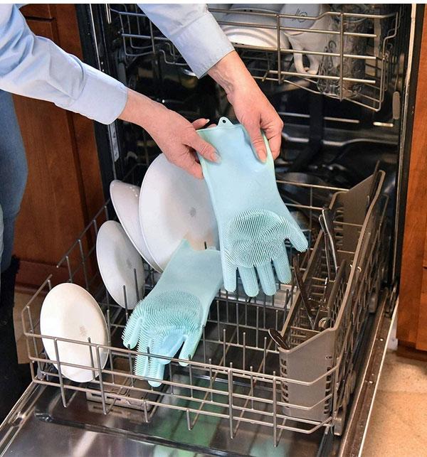Original Magic Dishwashing Gloves Gallery Image 1