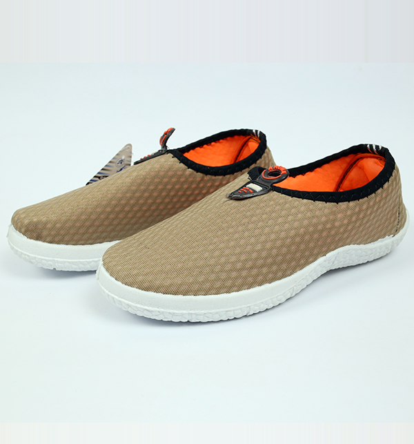 Women Casual Canvas Shoes - Brown Color (Size 6 to 9) Gallery Image 1