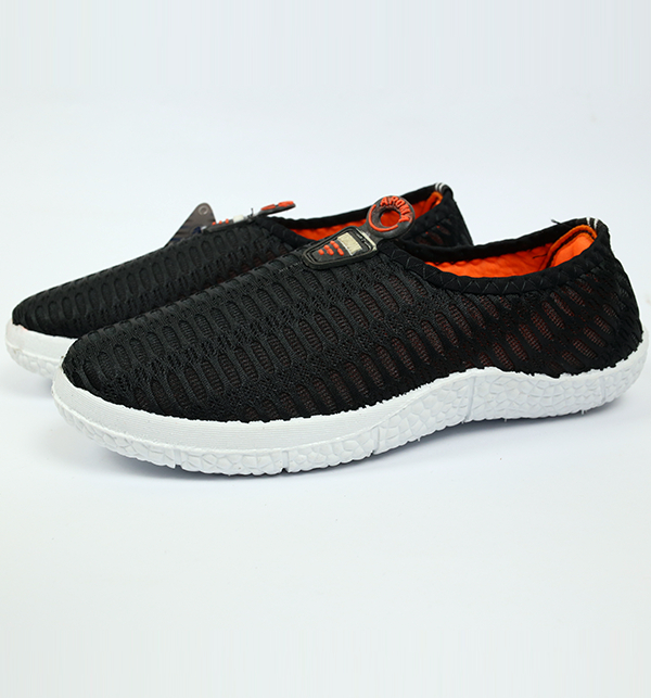 Women Casual Canvas Shoes - Black Color (Size 6 to 9) Gallery Image 1