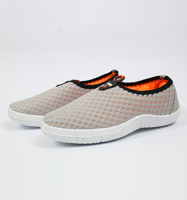 Women Casual Canvas Shoes - Light Gray Color (Size 6 to 9) Gallery Image 1