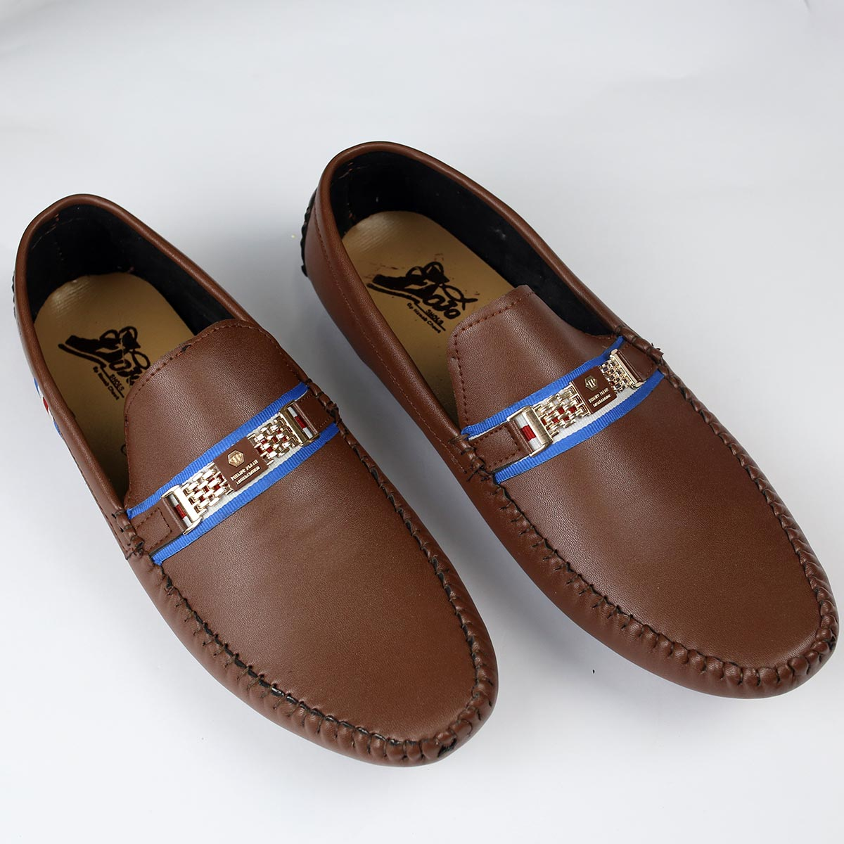 Brown Mens Casual Loafers Shoes (Size 7 to 10) (41 to 44)  (MS-12) Gallery Image 1