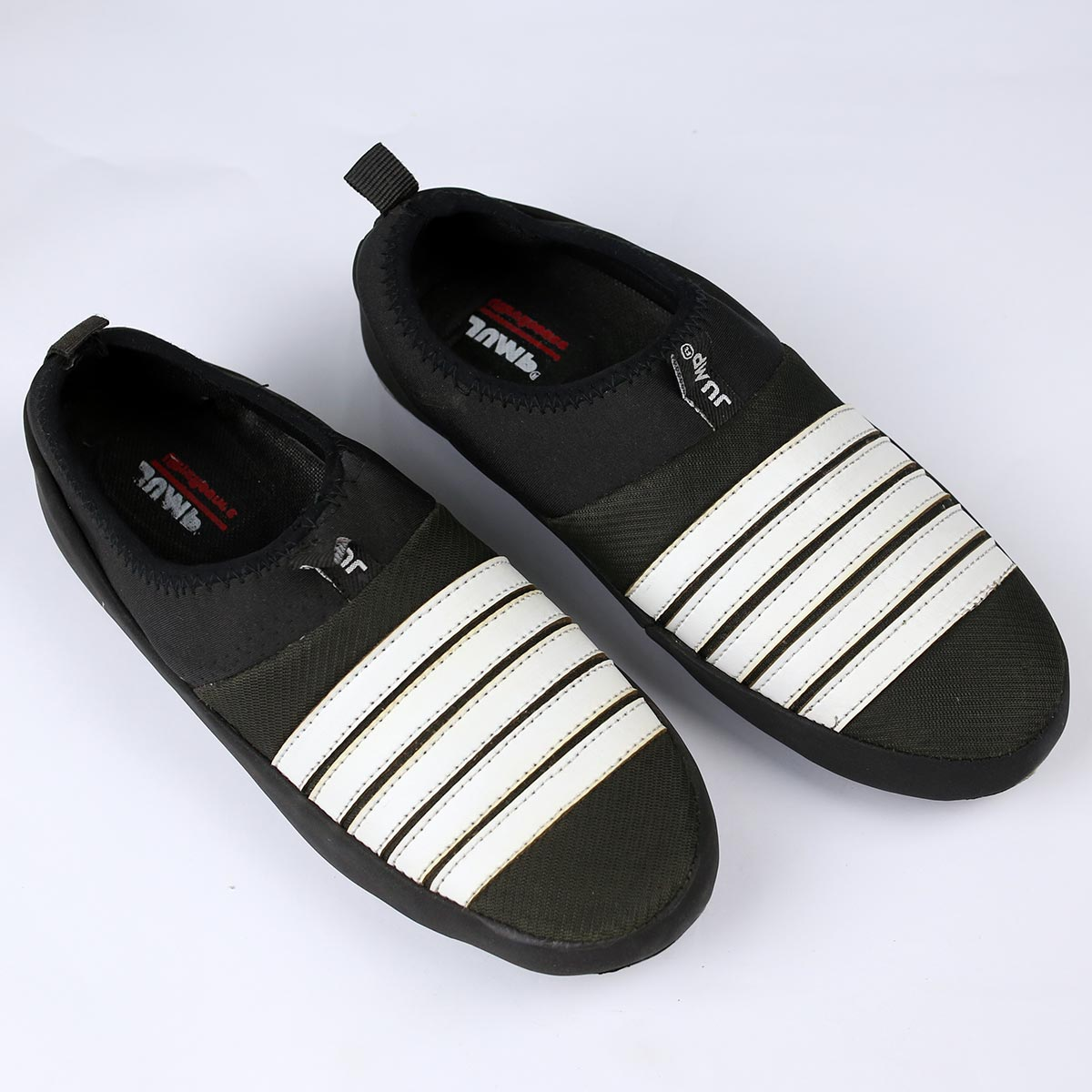 Black & White  Mens Fashion Casual Shoes (Size 7 to 10) (41 to 44)  (MS-11) Gallery Image 1