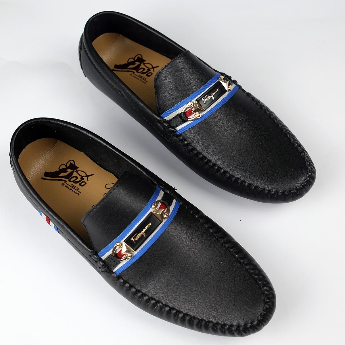 Black Mens Casual Loafers Shoes (Size 7 to 10) (41 to 44)  (MS-09) Gallery Image 1