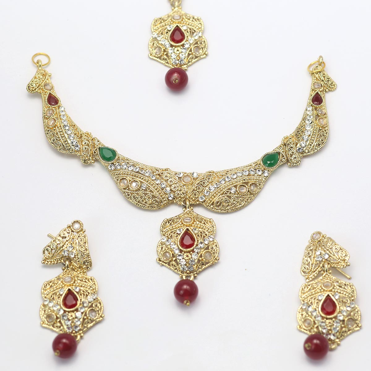 Latest bridal  jewellery designs 2020  - (PS-146) Gallery Image 1