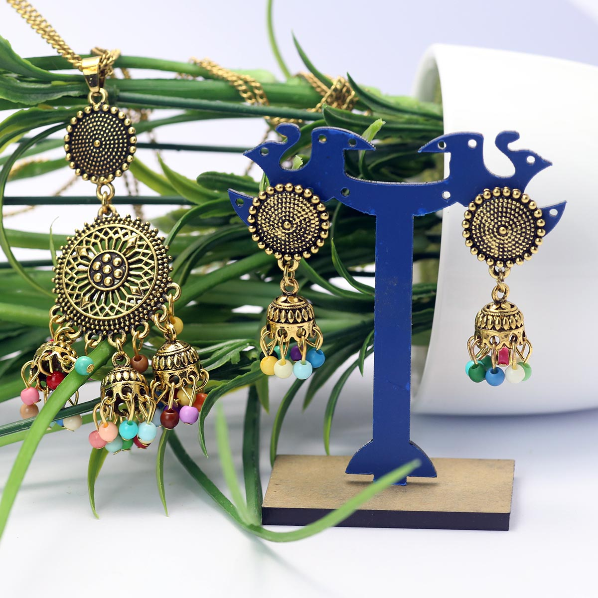 Latest Mala Necklace Set For Girls - (PS-147) Gallery Image 1