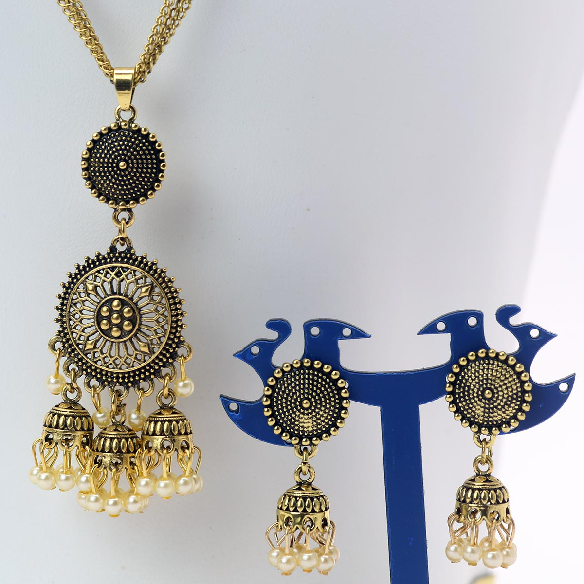 Stylish Neck jewellery Set For Girls - (PS-150) Gallery Image 1