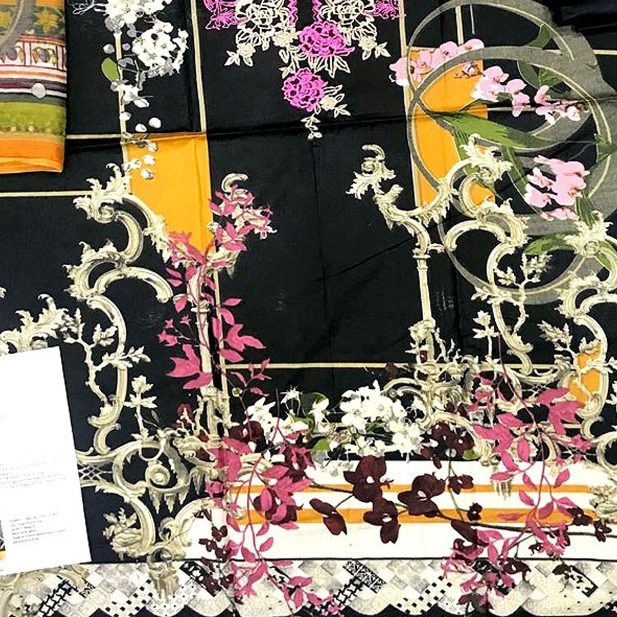 New Embroidered Lawn Dress 2020 with Chiffon Dupatta (DRL-414) (Unstitched) Gallery Image 3
