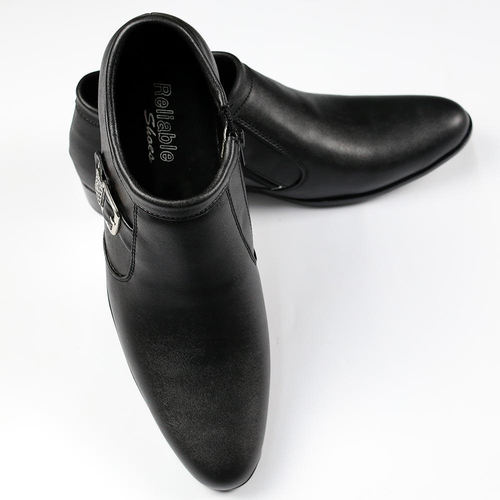 Black Formal Shoes for Men - (MS-08) Gallery Image 1
