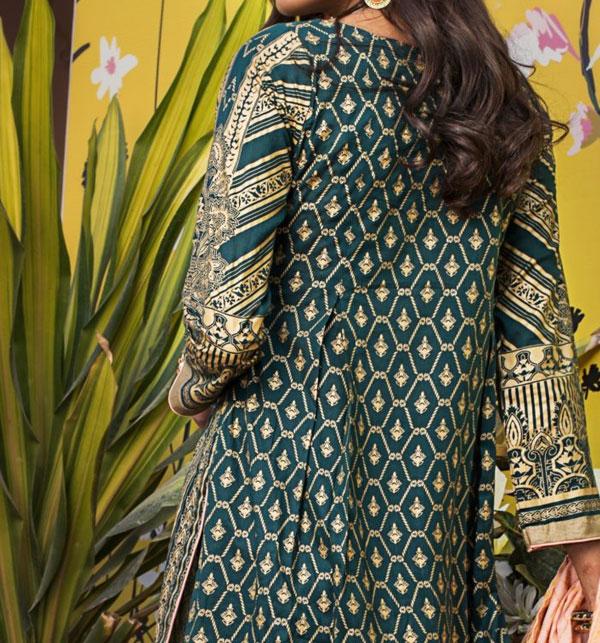 Banarsi Lawn Printed Collection 3 Pec Suit BY Z.S Textile (RBP-07) (Unstitched) Gallery Image 2