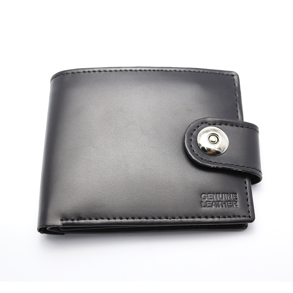 Men 100% Leather Casual Man Wallets Purse Standard Card Holders (W3) Gallery Image 3
