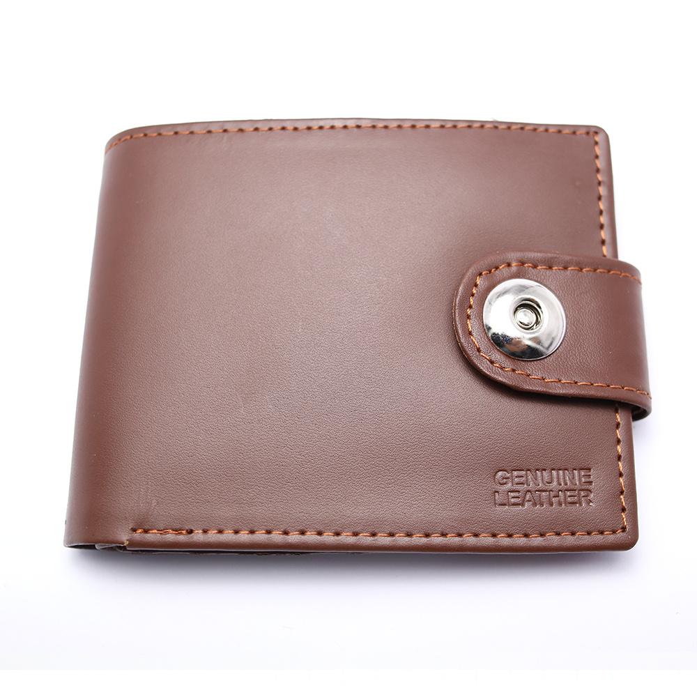 Men 100% Leather Casual Man Wallets Purse Standard Card Holders (W3) Gallery Image 4