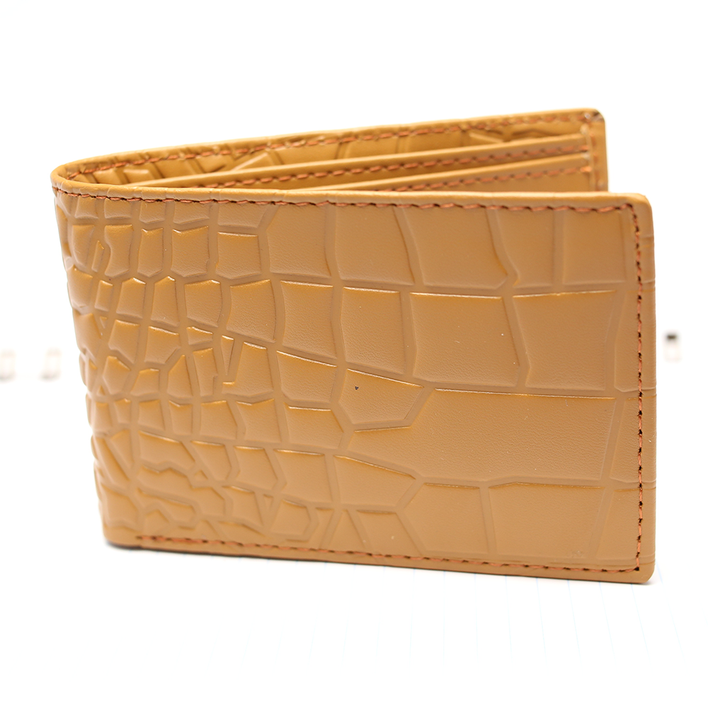 Genuine Leather Bi-fold Wallet (W4) Gallery Image 2