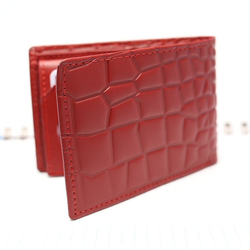 Genuine Leather Bi-fold Wallet (W4) Gallery Image 3