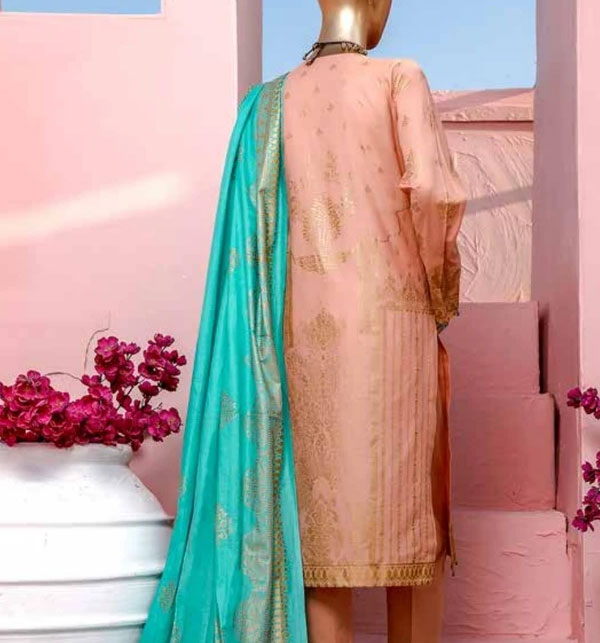 Block Print Banarsi Lawn Collection 2020 (MBP-01) (Unstitched) Gallery Image 1
