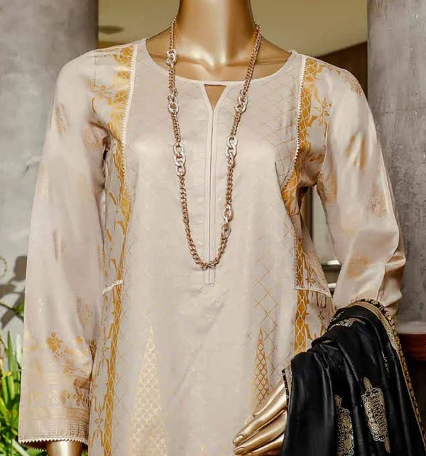 Printed Banarsi Lawn Collection 2020 With Lawn Dupatta (MBP-08) (Unstitched) Gallery Image 2