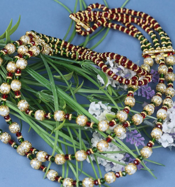 Stylish Multi Color Necklace Set For Women (PS-163) Gallery Image 1