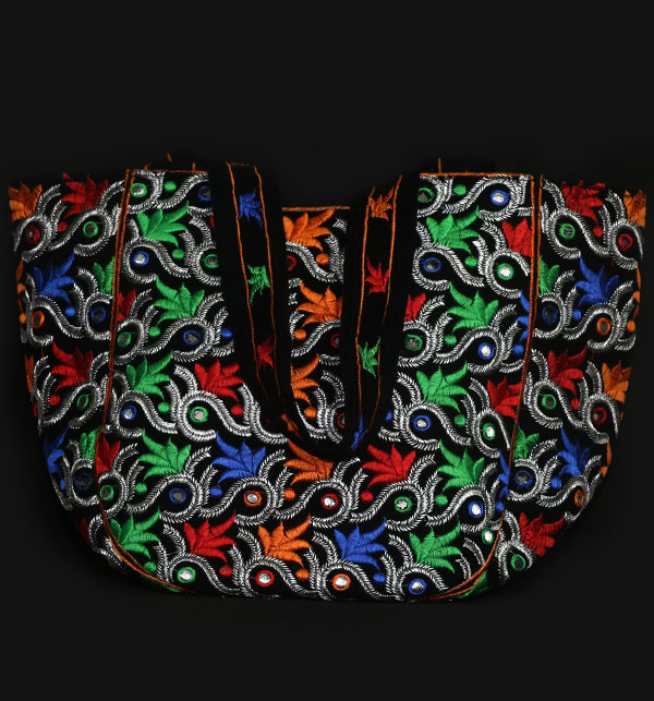 Sindhi Style Embroidered HandBags For Ladies (HB-55) Gallery Image 1