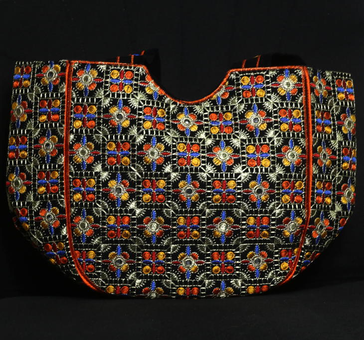 Ladies Multi Color Embroidered Handbag (HB-59) Gallery Image 1