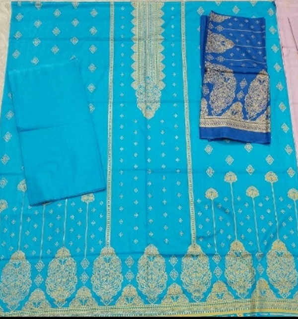 VS Classic Banarsi Printed Lawn With Lawn Dupatta.20-120A Gallery Image 2