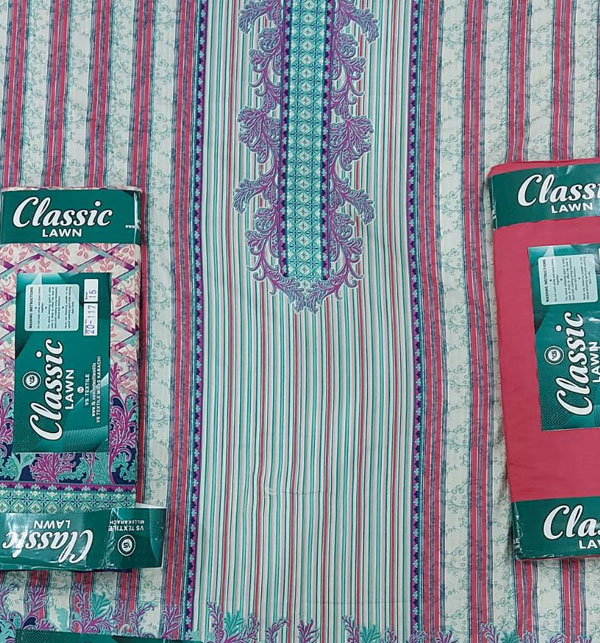 VS Classic Printed Lawn Collection With Lawn Dupatta 20-117A Gallery Image 2
