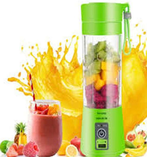 Easy Portable Rechargeable Juicer with Bottle Gallery Image 1