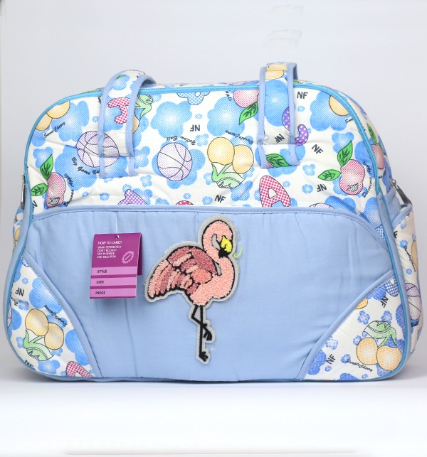 Sky Blue Baby Bag For Diaper & Accessories - (HB-102) Gallery Image 1