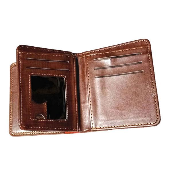 Gents Leather Wallet Flip-Window (W-10) Gallery Image 2