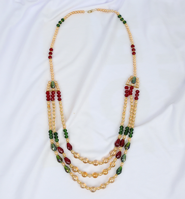 Classic Multi Colour Mala For Girls (PS-209) Gallery Image 2