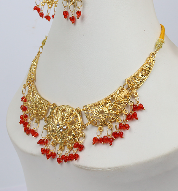Bridal Artificial Jewelry Sets Design (PS-211) Gallery Image 2