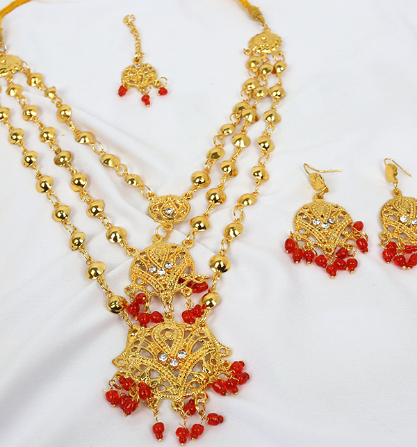 (DEAL OF THE DAY) Wedding Artificial Jewelry Sets Design  (PS-214) Gallery Image 1