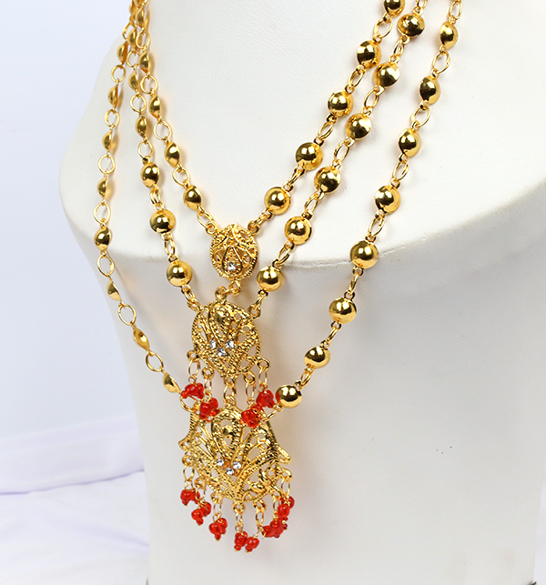 (DEAL OF THE DAY) Wedding Artificial Jewelry Sets Design  (PS-214) Gallery Image 2