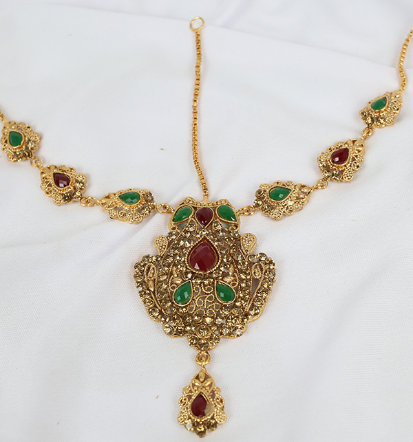 Beautiful Bridal MultiColor Jewelry Sets Design (PS-215) Gallery Image 2