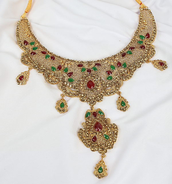 Beautiful Bridal MultiColor Jewelry Sets Design (PS-215) Gallery Image 3
