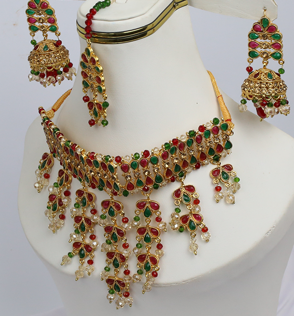 Bridal Heavy Jewelry Sets Design (PS-216) Gallery Image 1
