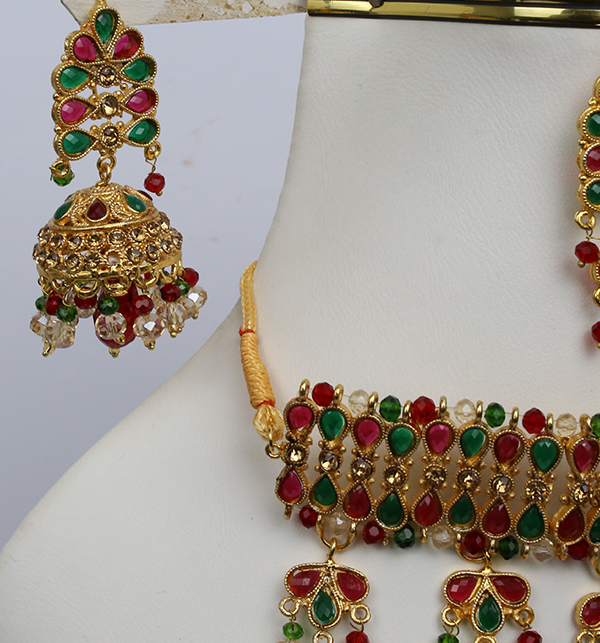 Bridal Heavy Jewelry Sets Design (PS-216) Gallery Image 2