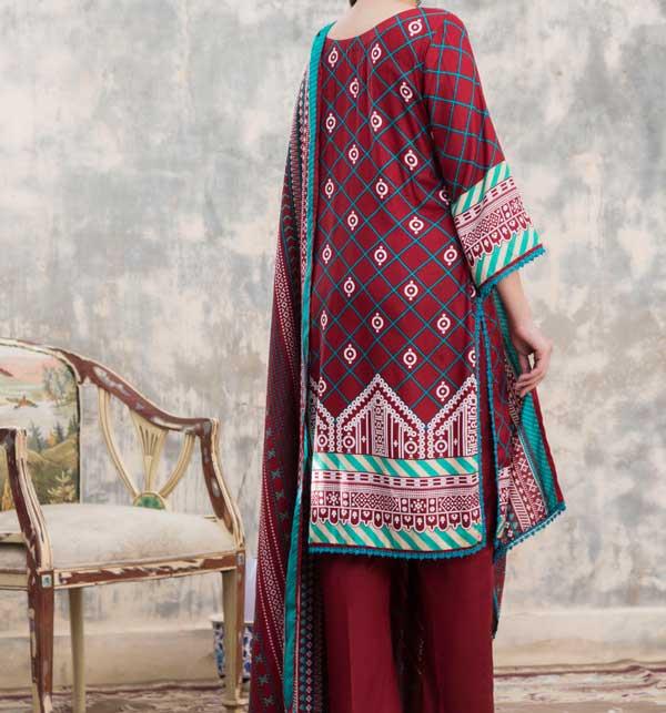 Sahil Printed Linen 2020 Unstitched Suit (SLN-04) Gallery Image 2