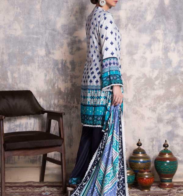 Sahil Printed Linen 2020 Unstitched Suit (SLN-09) Gallery Image 1