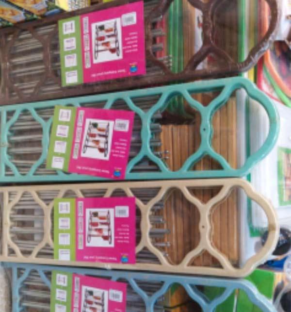 5 Layer Plastic Shoe Rack Gallery Image 1