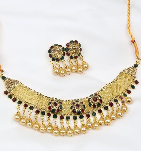 Wedding Multi Color Jewellery Set  2021  (PS-255) Gallery Image 1