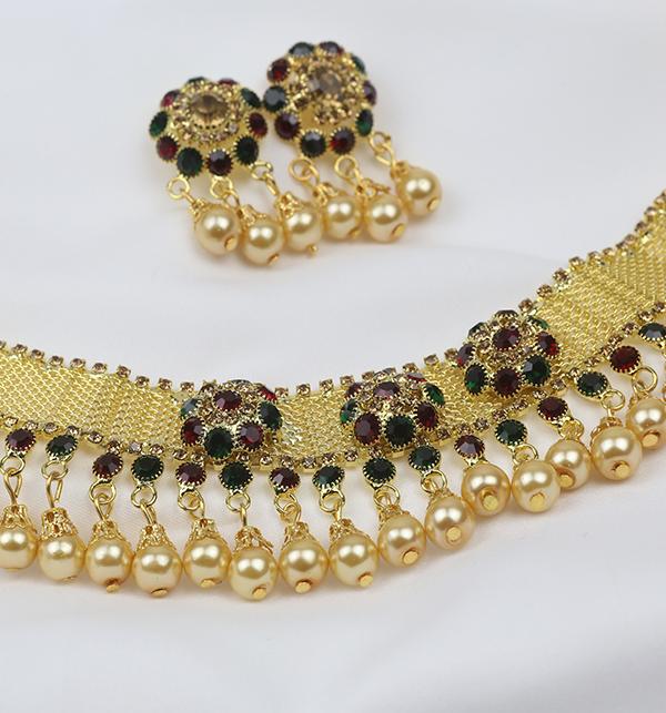 Wedding Multi Color Jewellery Set  2021  (PS-255) Gallery Image 2