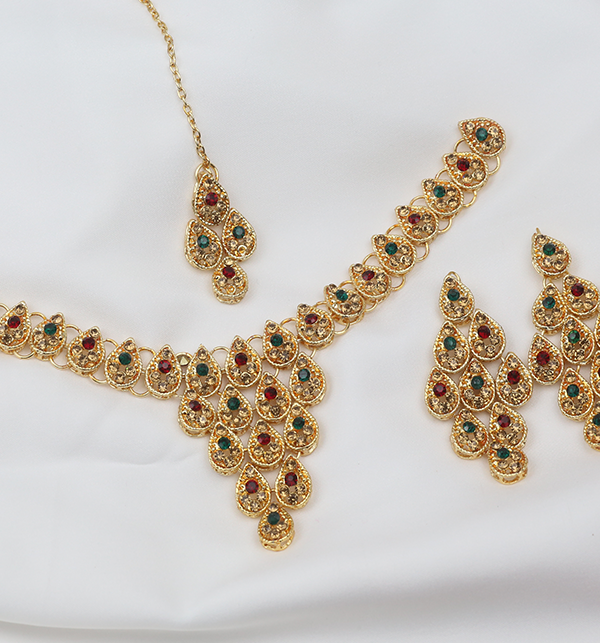 Latest Bridal Artificial Jewellery Designs For Ladies  (PS-256) Gallery Image 1