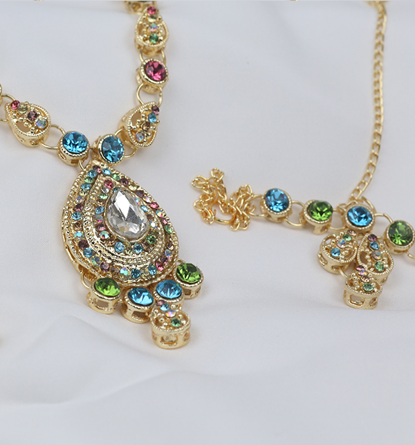 Artificial Necklace Set for Women 2021  (PS-257) Gallery Image 2