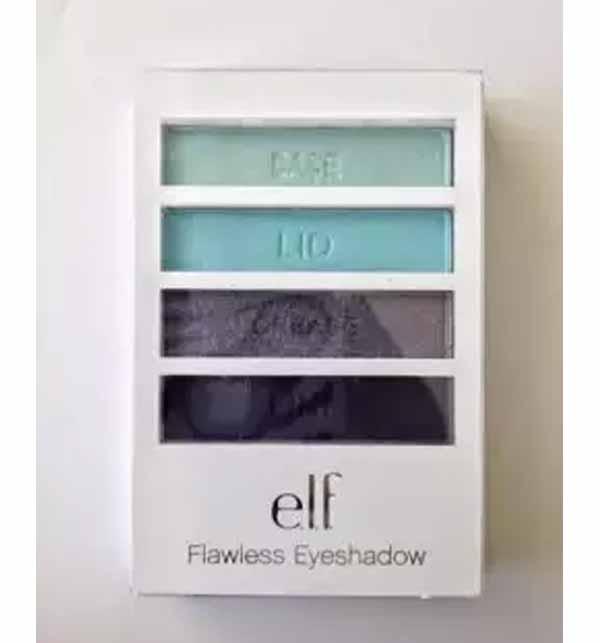ORIGNAL ELF Flawless Eyeshadow Sea Escape Original Flawless Shadow 4 in 1 Gallery Image 1