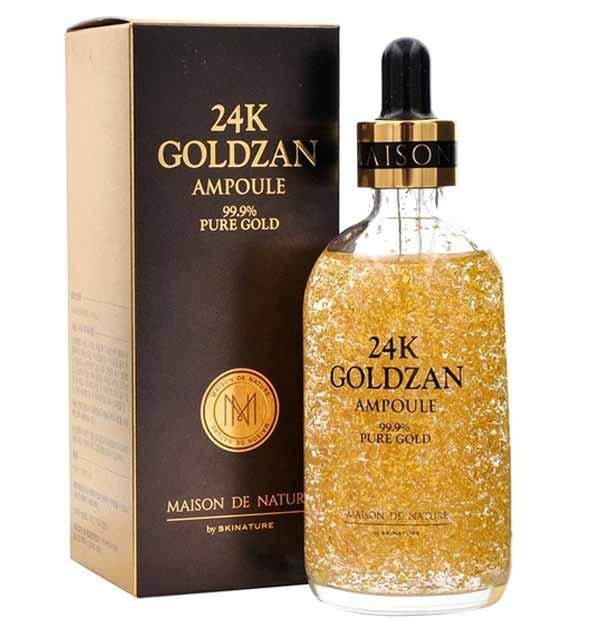 ORIGNAL 24K Goldzan Ampoule 99.9% Pure Gold Gallery Image 1