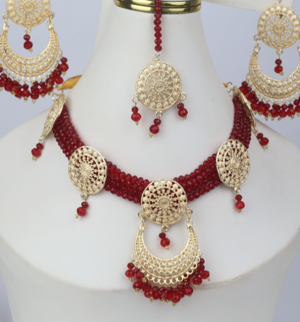 Artificial Bridal Jewellery Set Design 2021 (PS-266) Gallery Image 1
