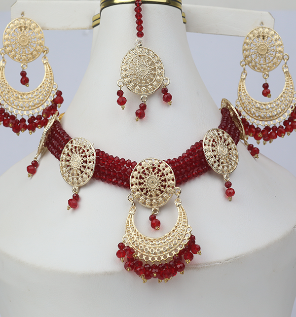 Artificial Bridal Jewellery Set Design 2021 (PS-266) Gallery Image 2